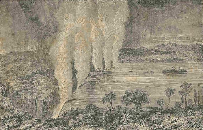 Victoria Falls - David Livingstone's Travels